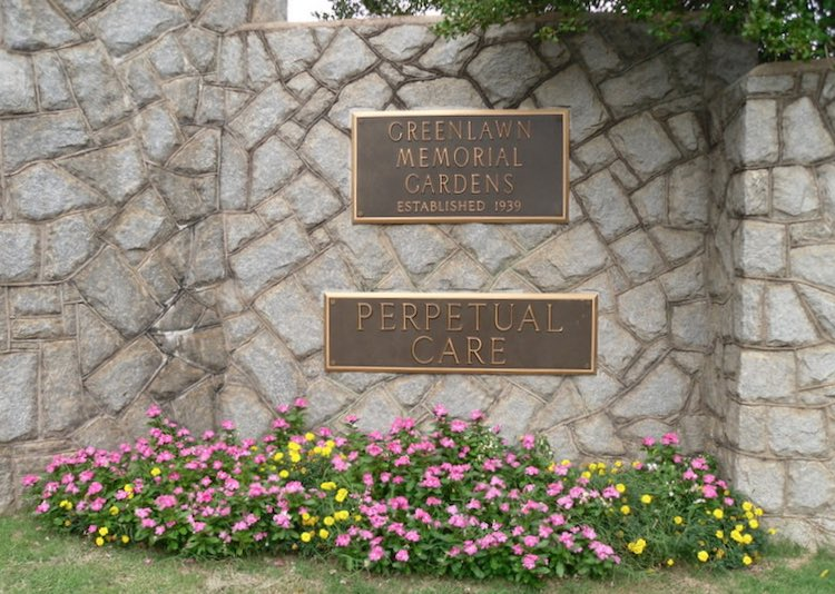 Greeenlawn Memorial Gardens Entrance