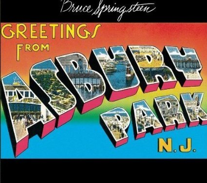Greetings From Asbury Park N.J. By Bruce Springsteen Album Cover Location