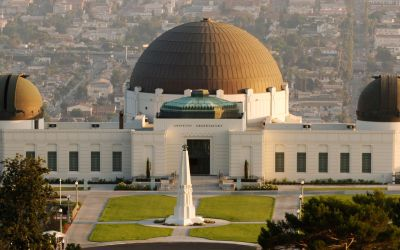 Griffith Observatory In Los Angeles – Site Of Jim Morrison Photoshoot