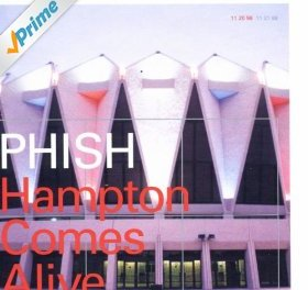 Hampton Comes Alive By Phish Album Cover Location