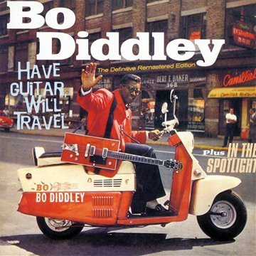 """""""Have Guitar Will Travel"""" By Bo Diddley Album Cover Location"""