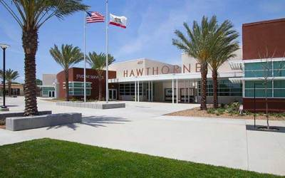Hawthorne High School – The Beach Boys went to school here.