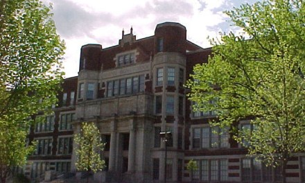 Hibbing High School – Bob Dylan went to school here.