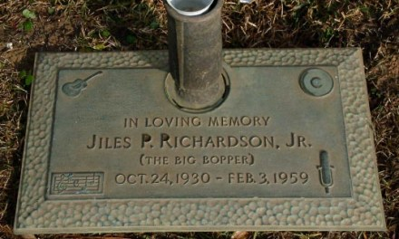 "Buried Here – J. P. ""Big Bopper"" Richardson"
