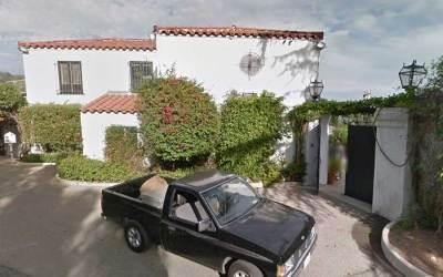 Jimi Hendrix Former Residence In Beverly Hills