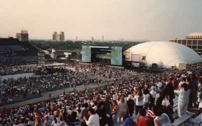 "John F. Kennedy Stadium – ""Live Aid"" American Venue And ""The Monsters of Rock Festival"""