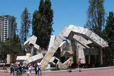 Justin Herman Plaza – Home Of An Impromptu U2 Concert