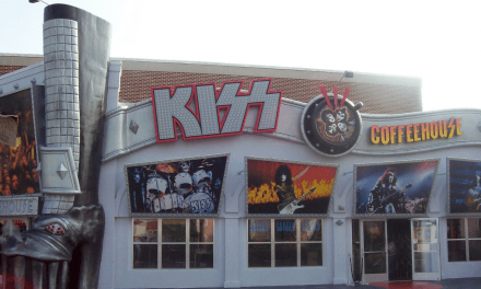 Former Location Of The KISS Coffeehouse In Myrtle Beach, SC