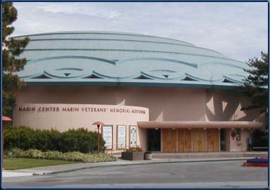 Marin Veterans Memorial Auditorium In San Rafael, CA