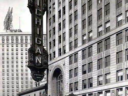 Michigan Palace In Detroit, Location Of The Last Iggy & The Stooges Concert