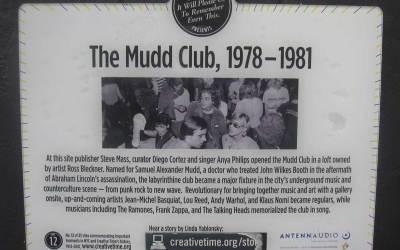 """Mudd Club – """"This Ain't No Mudd Club Or CBGBs"""""""
