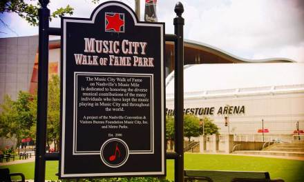 Music City Walk of Fame In Nashville