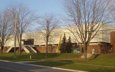 Oshawa Civic Auditorium In Oshawa Ontario, Canada