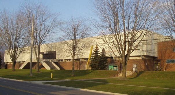 Oshawa Civic Auditorium In Oshawa Ontario, Canada
