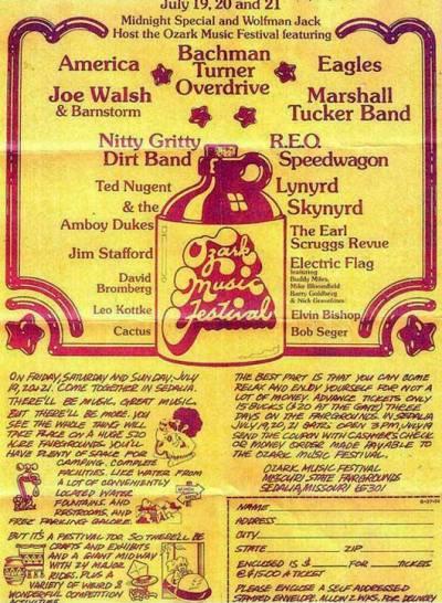 Ozark Music Festival Poster