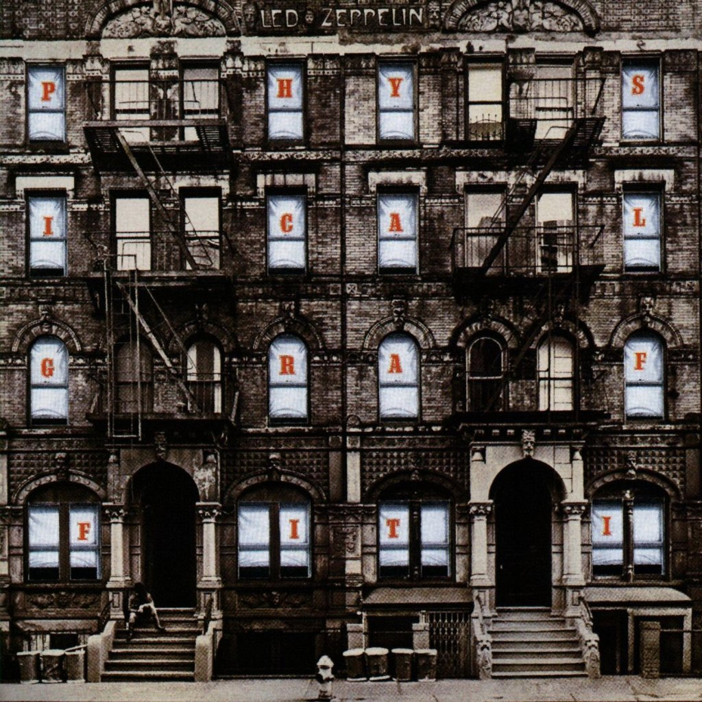 physical graffiti by led zeppelin album cover location. Black Bedroom Furniture Sets. Home Design Ideas