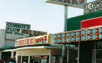 Pink's Hot Dogs – Old Phil Spector hangout