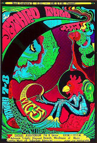 Poster For Eagles Auditorium