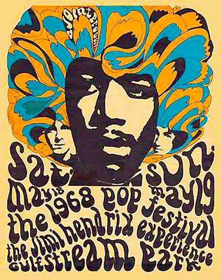 Poster For Miami Pop Festival