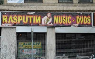 Rasputin Music & DVD's – San Francisco On Powell Street