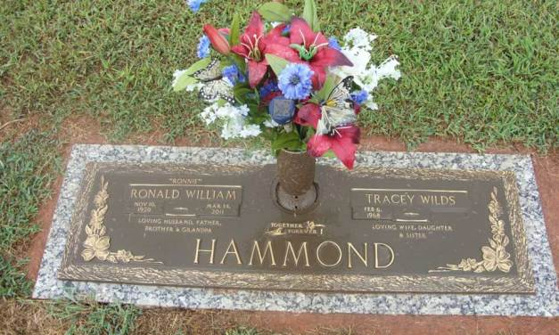 Buried Here – Ronnie Hammond, Lead Singer Of The Atlanta Rhythm Section