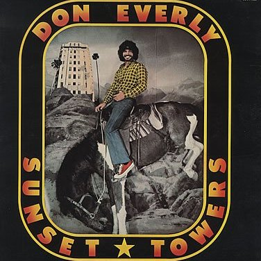 Sunset Towers by Don Everly Album Cover Location