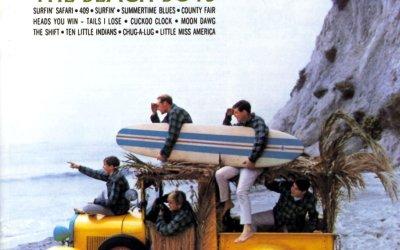 Surfin' Safari by The Beach Boys Album Cover Location