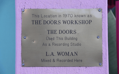 The Doors Office and Recording Studio In West Hollywood, CA