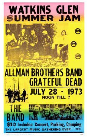 The Summer Jam Poster