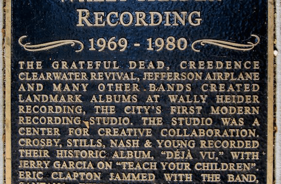 Wally Heider's San Francisco Recording Studios