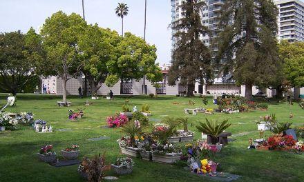 Buried here – Frank Zappa, Roy Orbison, Carl Wilson And Minnie Riperton