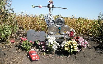 Plane Crash Site Where Buddy Holly, Ritchie Valens & Big Bopper Died