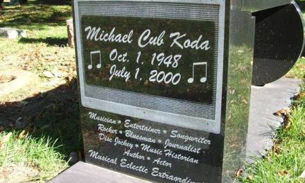 """Buried Here – Michael """"Cub"""" Koda, Lead Singer & Guitarist For Brownsville Station"""