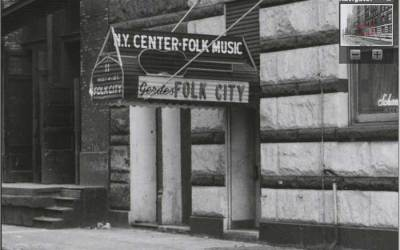 Gerde's Folk City – Bob Dylan's First Professional Gig