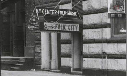 Gerde's Folk City – Bob Dylan's First Professional Gig