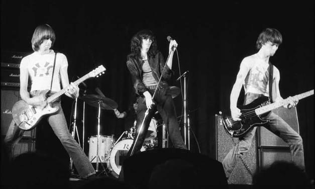 Ramones Way in Forest Hills, New York.  Renamed after the Ramones
