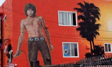 """Morning Shot"" , The Jim Morrison Mural In Venice Beach, California"