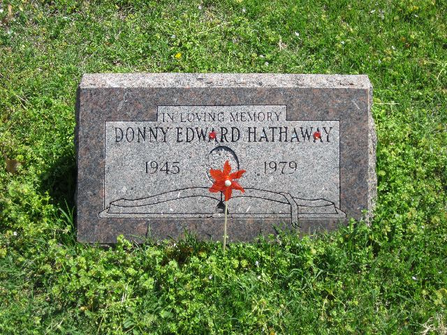 Donny Hathaway's Tombstone