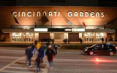 Cincinnati Gardens- Performances By The Beatles, Rolling Stones, Elvis Presley And More