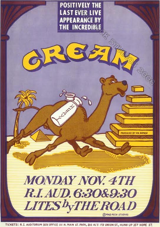 Poster of Cream At Rhode Island Auditorium