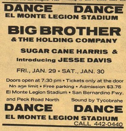 El Monte Legion Stadium Ad