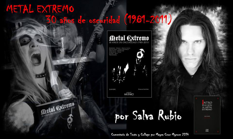 METAL EXTREMO 30 años de Oscuridad (1981-2011) (Libro)
