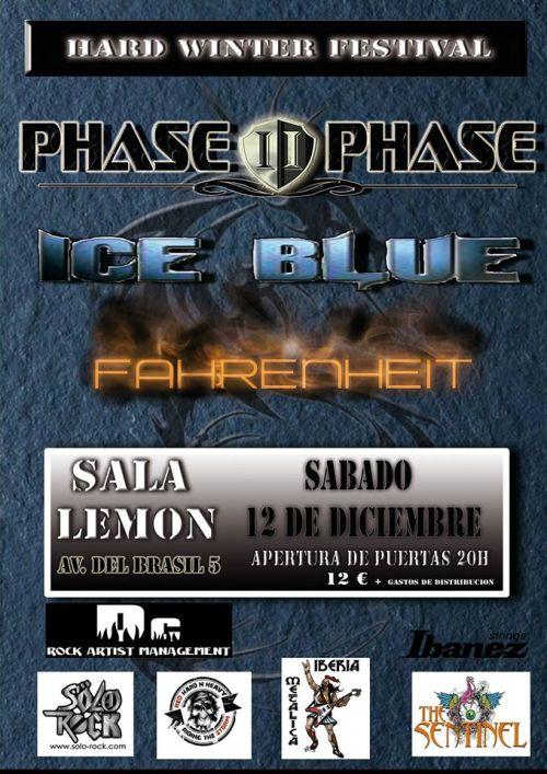 PHASE II PHASE + ICE BLUE