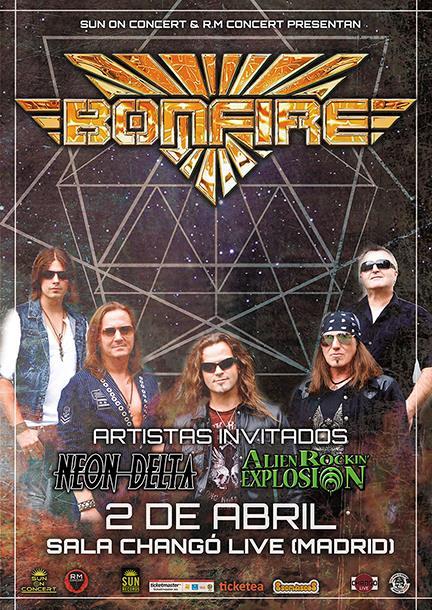 BONFIRE en concierto!