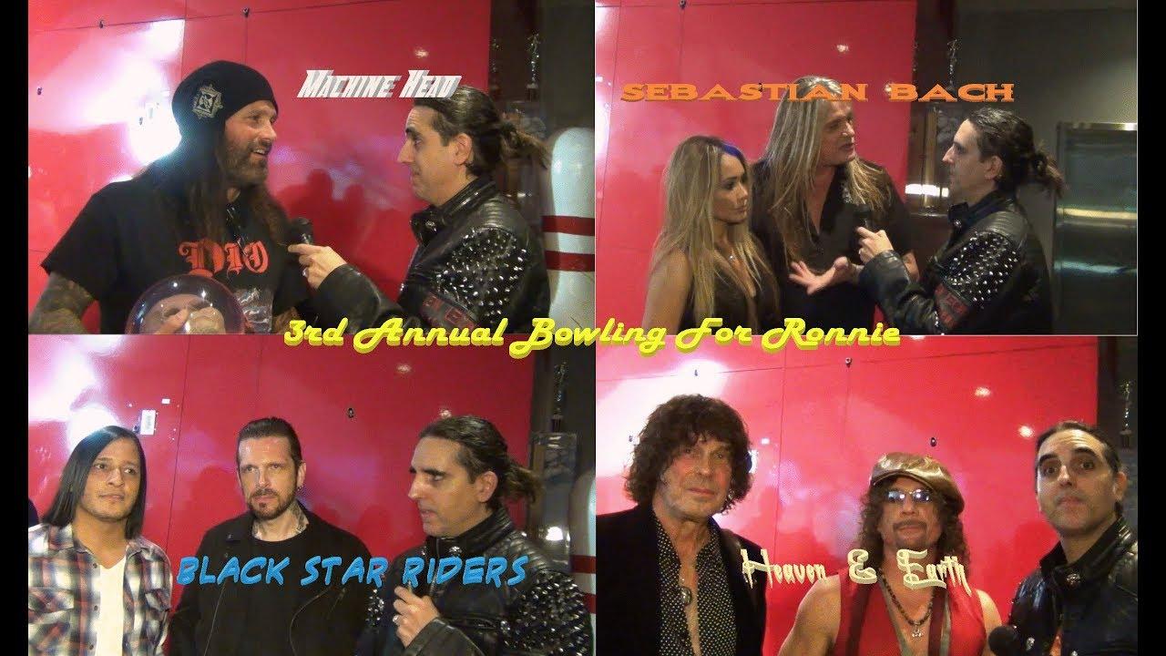 3er Bowl For Ronnie J. Dio – Entrevistas / Interviews
