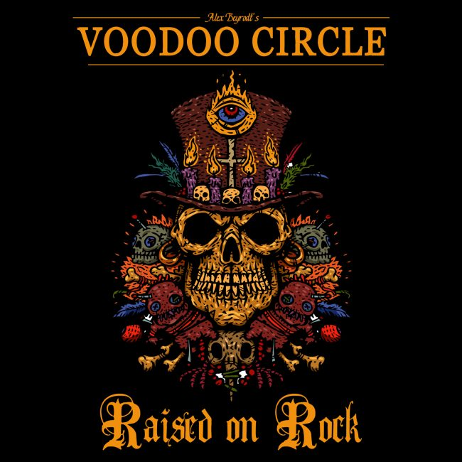 VOODOO CIRCLE - Raised on rock (2018)