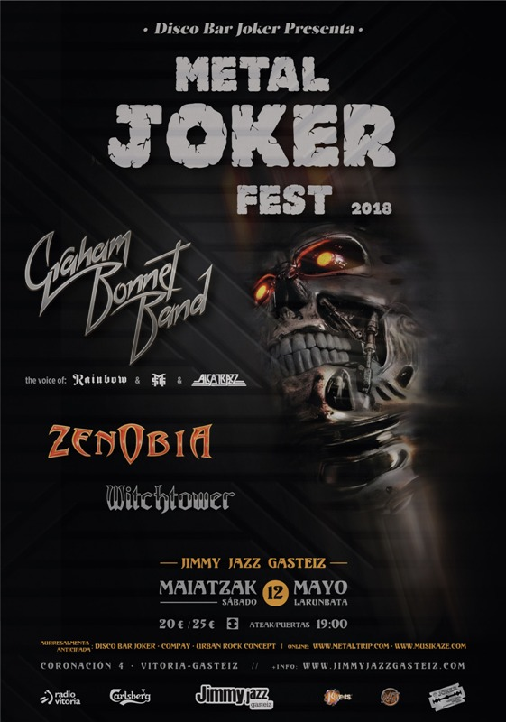 GRAHAM BONNET en el METAL JOKER FEST 4