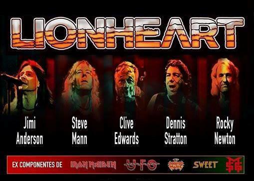 LIONHEART cambio de vocalista y gira