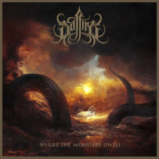 "SAFFIRE - Nuevo disco ""Where Monsters Dwell"""