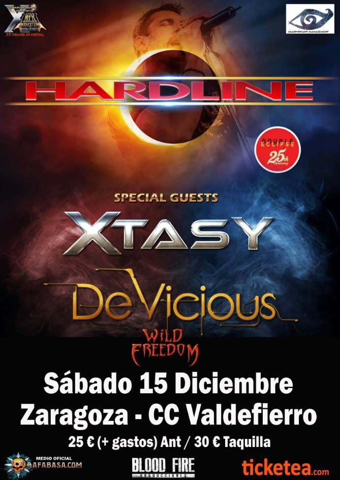 HARDLINE encabeza festival en Zaragoza